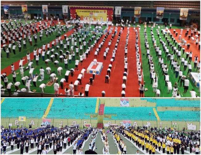 North East immersed under the magic blanket of 3rd International Yoga Day