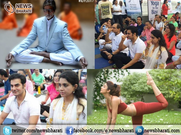 Prominent personalities share their Yoga poses on this #InternationalYogaDay