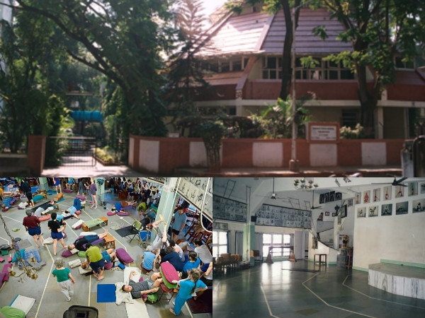 Ramamani Iyengar Yoga Institute in Pune has contributed and developed the best Yoga in India