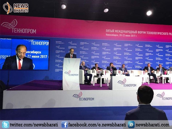 Arun Jaitley addressed a plenary session of Russia Technoprom; Russia highly appraises 'Make in India'