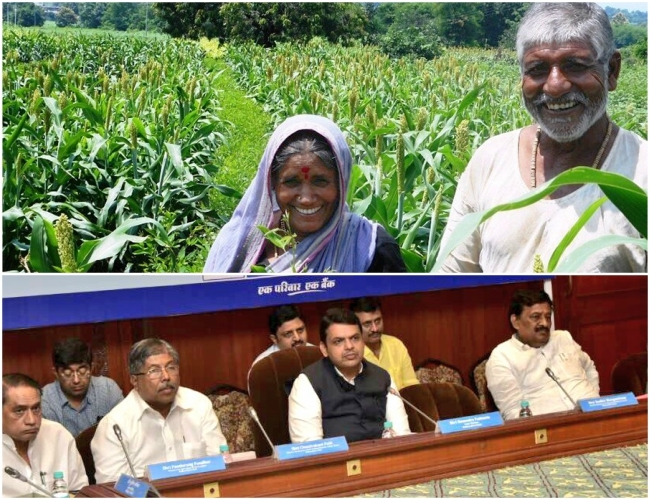 To help Maharashtra Farmers, CM Fadnavis appealed to bankers and ask to disburse Rs 10,000