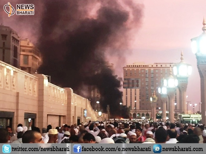 Saudi security forces thwart suicide attack on Mecca's Grand Mosque; six pilgrims injured