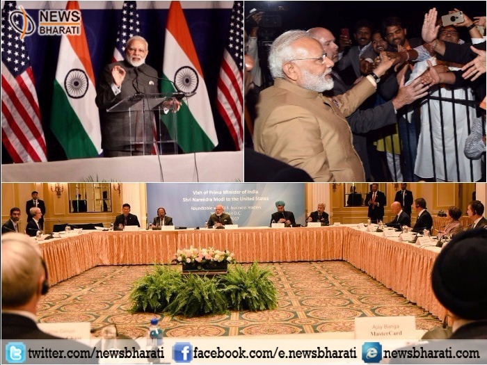 Indian diaspora rejoiced on every good news; wants India to scale newer heights: PM Modi in US