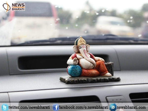 Because God is 'watching'! Be safe on roads, Gods in cars warn you to 'Drive Slowly and Safely'