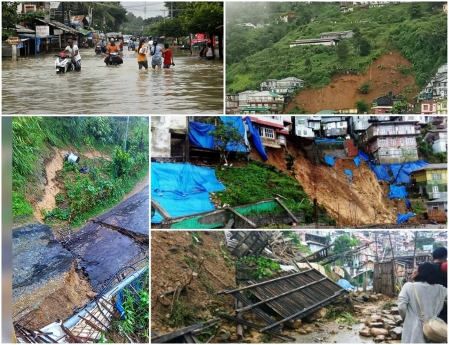 Villages' submerged, over 1 Lakh people reeling under the blanket of Assam floods