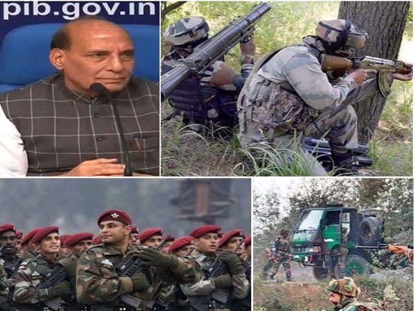 Rajnath hails Security forces for 25% reduction in Naxal attacks and 45% decline in Pakistan infiltration