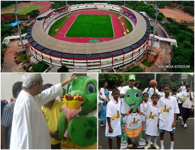 With 'Olly' sea-turtle, Odisha CM wished athletes 'Best Luck' for Asian Athletics Championship 2017