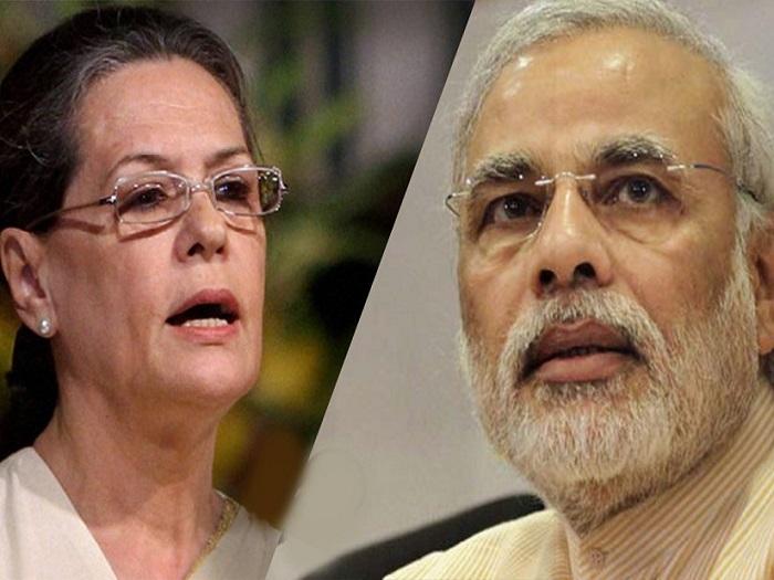 Sonia Gandhi slams Modi government for all-round failure