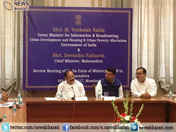 Centre will direct Maha in urban development: Venkaiah Naidu reviews progress of Mumbai