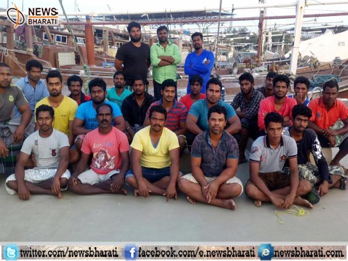 Sushma Swaraj applauds 'relentless efforts' of diplomats after Iran released 25 Indian fishermen