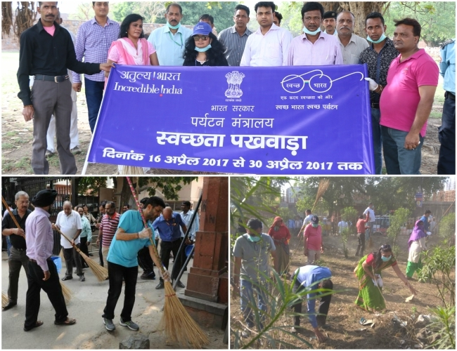 'Swachhta Pakhwada' celebrated fruitfully  with 'Farmers' by sensitizing about cleanliness