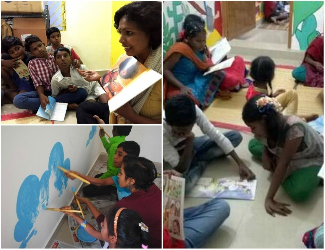 Education for All! Bengaluru's library 'Buguri' fulfills every rag-picker's dream with fun learning
