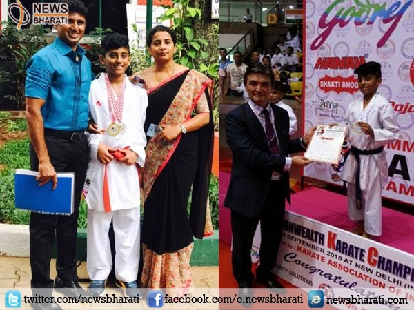 For the 1st time, Indian 12-yr champ M.P Jagruth clinches gold medal in World Karate Championship