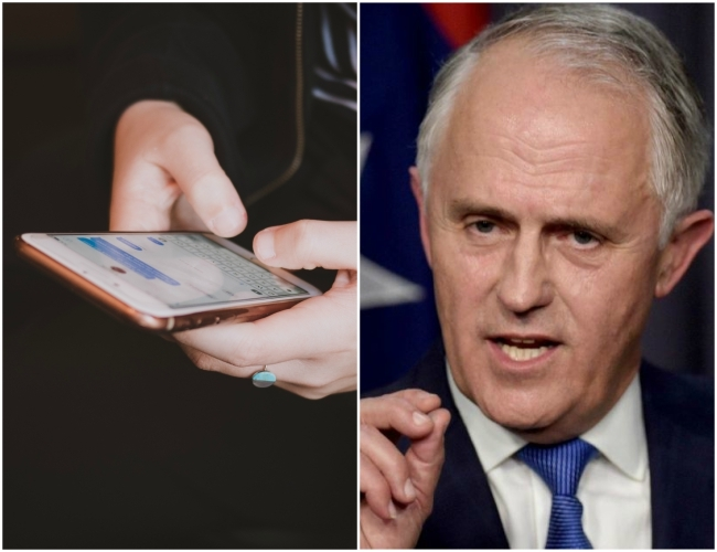 Australia to frame new laws to stop terrorists and criminals from communicating freely online