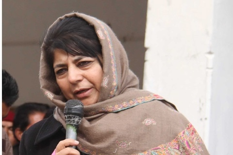 CM Mehbooba Mufti meets Rajnath Singh to discuss Valley situation