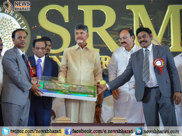 SRM University to serve as 'knowledge hub' becomes first private campus of Andhra Pradesh