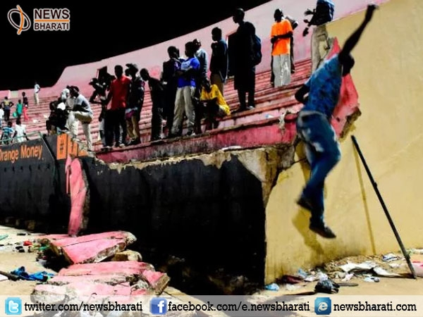 Wall collapse at Senegal football stadium takes away 8 lives injuring several others