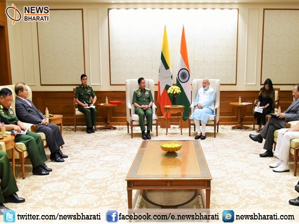 """Myanmar is a key pillar of India's """"Act East"""" Policy: PM Modi"""