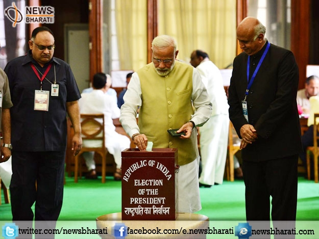 #PresidentElectionDay :  Voting underway at Parliament and State Assemblies