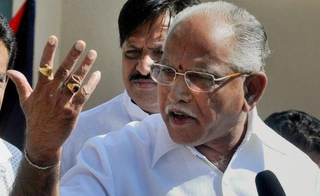 B.S. Yeddyurappa slams state government for transferring senior cop
