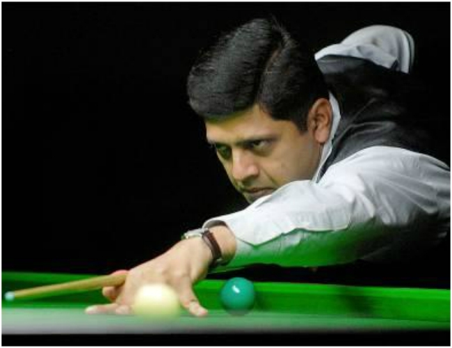 Karnataka Champ I H Manudev clinches 1st National Masters Snooker Tournament title