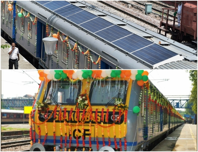 Yay! Finally India's 1st solar train takes 'path-breaking' leap towards safe environment