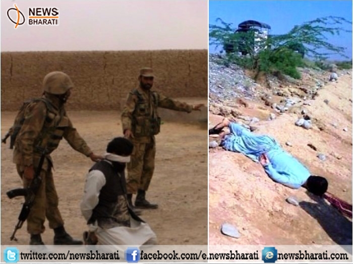 Pakistan's 'NaPak' activity in Balochistan continues; killed hundreds, apprehends thousand