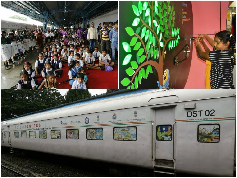 To highlight climate change due to human activities, 'Science Express' touches Maharashtra