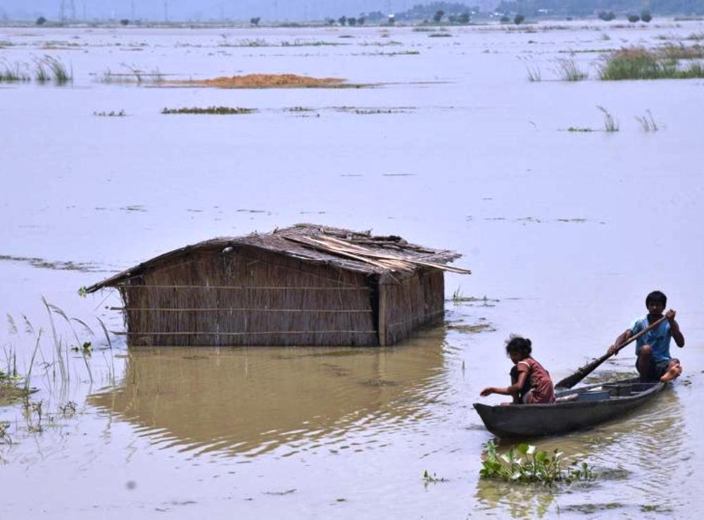 Centre asks ISRO to help identify flood-hit regions in Northeast