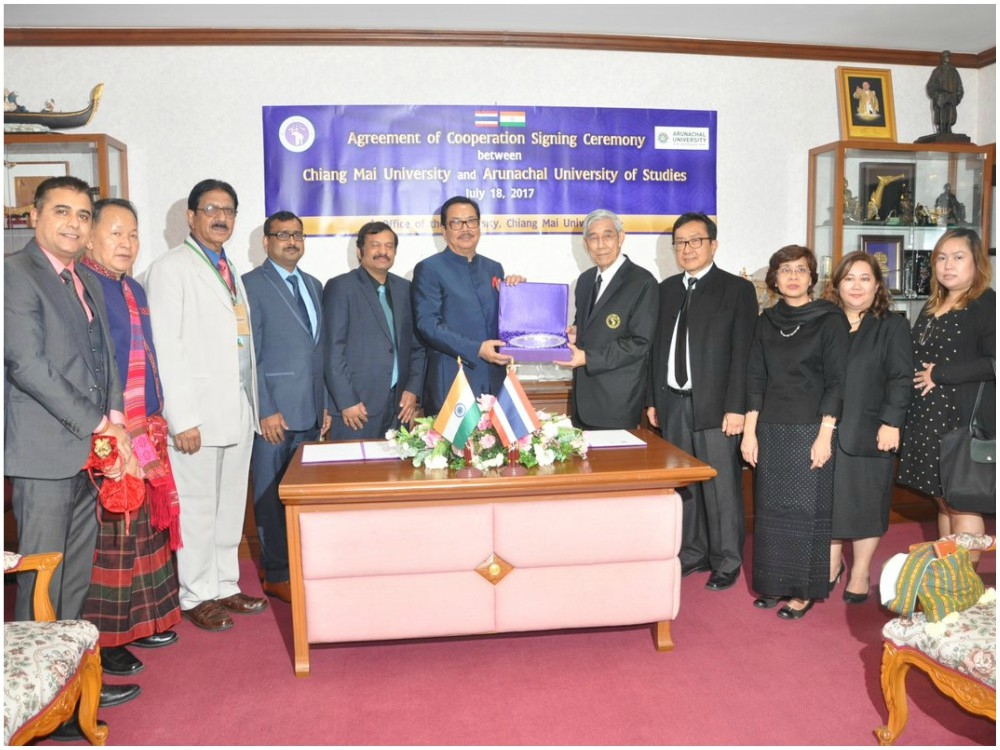 Arunachal and Thailand join hands to boost educational exchange with foreign nation