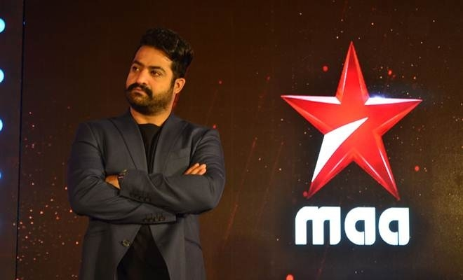 Jr NTR pumps the rating of Star Maa Channel