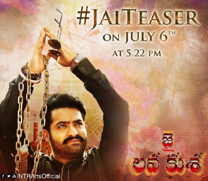 All Jr NTR fans get ready for Jai Lava Kusa teaser on July 6