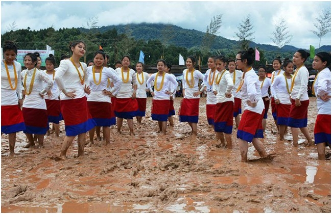 Arunachal celebrated 'Dree Festival' with traditional songs and dances