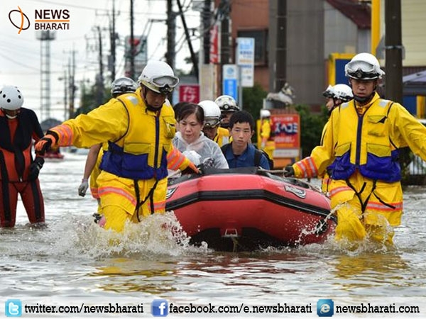 Massive flood hits Japan increasing the possibility of once-in-decades disaster