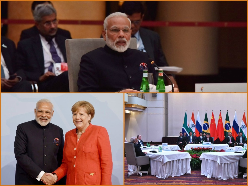 Modi firmly pitches collective crackdown on terrorism financing and terror sponsors