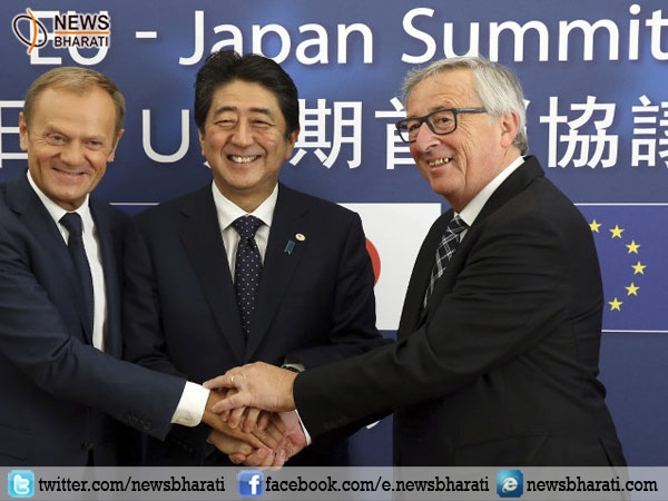Japan, EU seal free trade deal sending a 'robust message' against protectionism