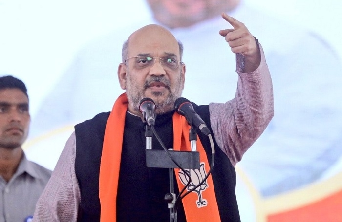 It is time to wipe out Congress from every polling booth : BJP Chief Amit Shah