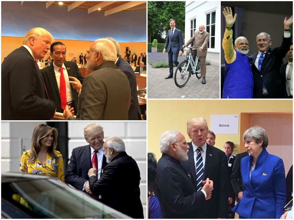 New world order in making: Trump decides to stand with Modi: #G20 photo session [VIDEO]