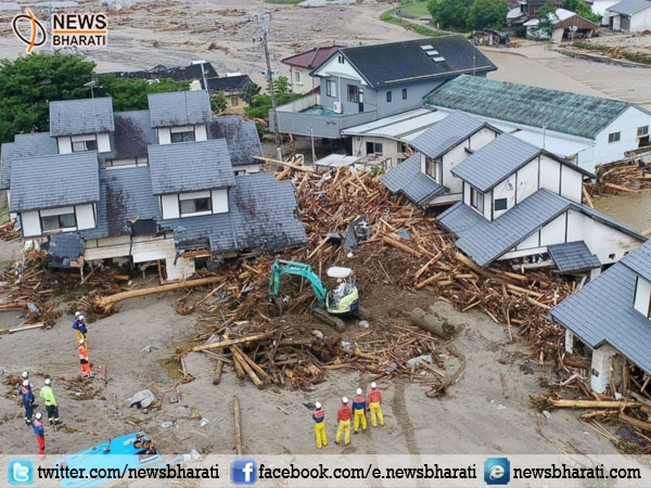 18 lives lost, 27 missing in flood-hit Japan; rescue operation continues