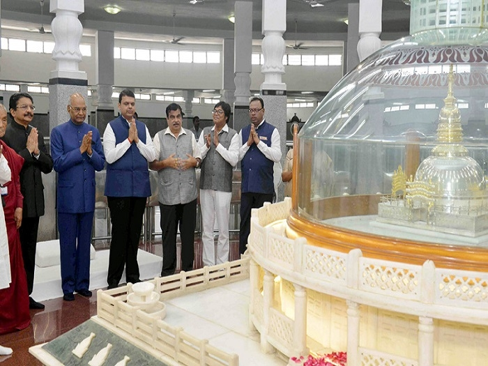 News Bharati - Buddhist, Jain sites dominate President's