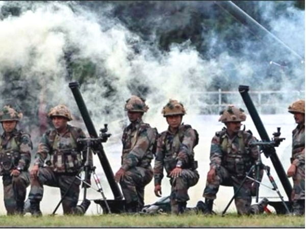 News Bharati - BSF fires 9,000 rounds of mortar shells in