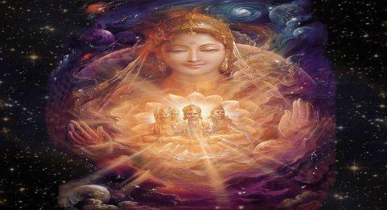 Maa Durga and cosmic divinity