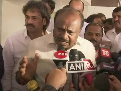 Congress- JD(S) alliance will sweep by-polls: Karnataka CM Kumaraswamy