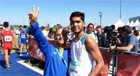 Speeding high, Suraj Panwar clinched silver in men's 500m race walk at Youth Olympics