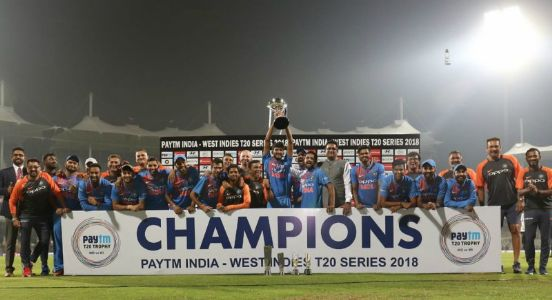 Dhawan, Yadav drag India to the winning spree claiming T20 series against West Indies 3-0