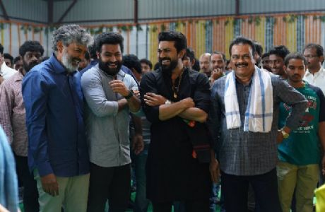 Baahubali director SS Rajamouli's #RRR officially launched