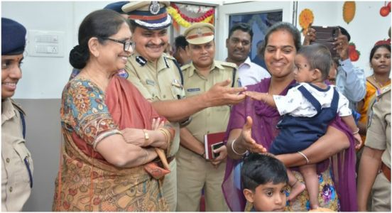 Staff on top priority! Telangana Police station gets its own crèche for women constables and officers