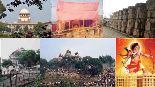 Responsibility for Ram Mandir controversy