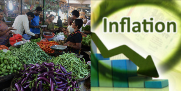 Nation witnesses fall in the inflation rate settling at 4.64% than 5.28% in last month