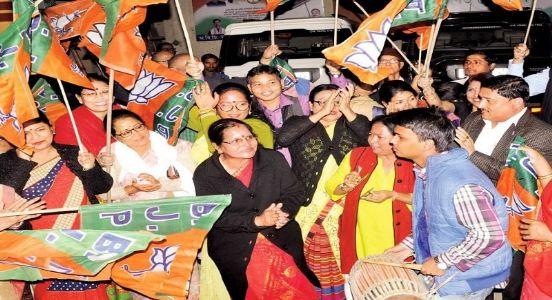 BJP registers spectacular win in Assam's rural elections